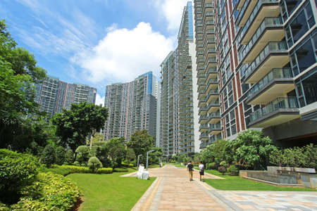 residential area: residential area living environment