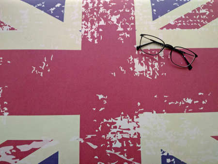 Spectacles on a Union Flag