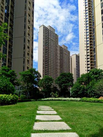 Resident gardens 写真素材 - 101422279