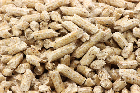 co2 neutral: wood pellets for background use