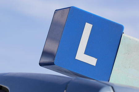 driving school: Dutch driving school car sign