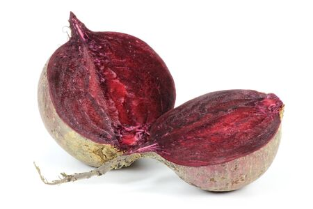mellowness: Beetroot isolated on white beckground
