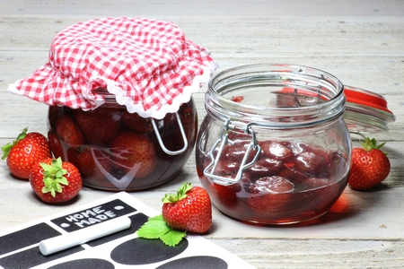 mellowness: Home canned strawberries