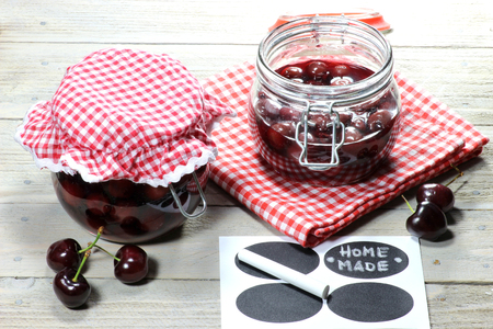 mellowness: Home canned cherries