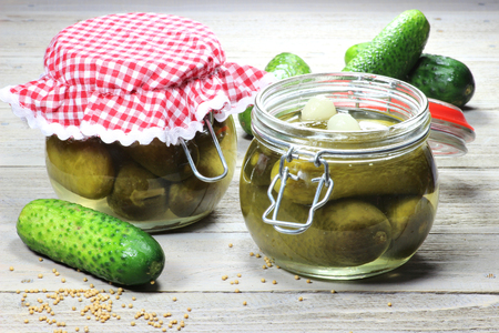 gherkins: Home canned gherkins