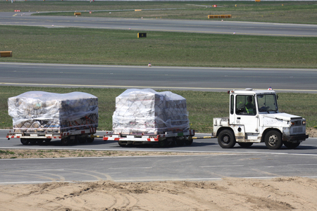 Welcome Air Cargo pallets