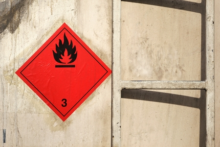 chemical hazard: pictogram for chemical hazard - flammable liquids