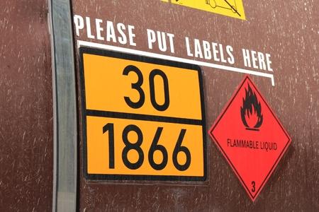 symbole chimique: étiquettes d'identification des dangers