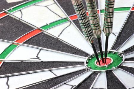 bullseye: steel darts hit the mark