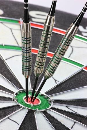 hit: steel darts hit the mark