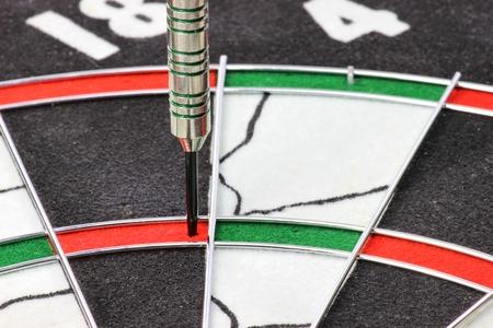 triple: steel dart hit the triple ring