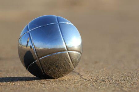 bocce: bocce ball Stock Photo