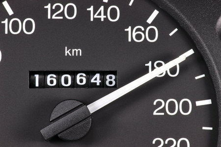 analogous: speedometer at 180 kmh