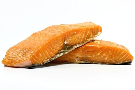 salmo: smoked salmon fillet