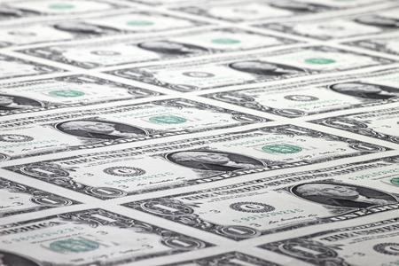 stimulus: 1 US Dollar sheet uncut