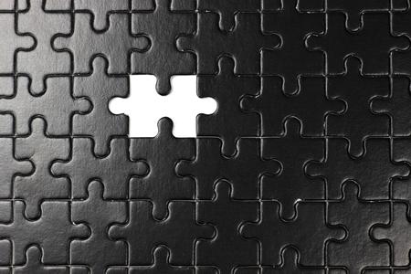 fehlende Stück des Puzzles