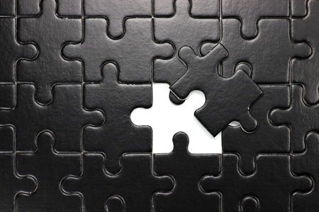 cohesion: missing piece of jigsaw puzzle