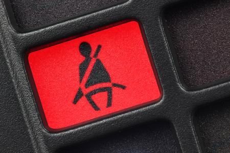 cinturón de seguridad: asiento de la luz de aviso del cinturón
