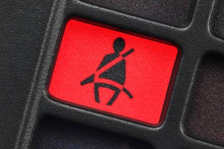 cinturon de seguridad: asiento de la luz de aviso del cinturón