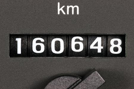 kilometerteller van tweedehands auto blijkt kilometerstand van 160.648