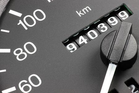 940 399 の走行距離を示す中古車の走行距離 写真素材