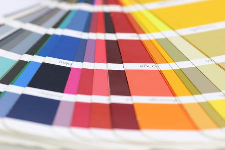 color fan Standard-Bild