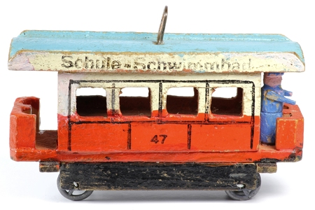 tramway: tramway from the Ore Mountains  Germany