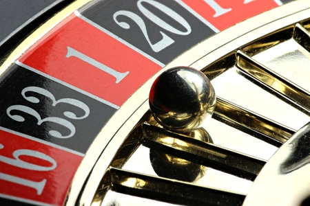 winning number in roulette Stock Photo