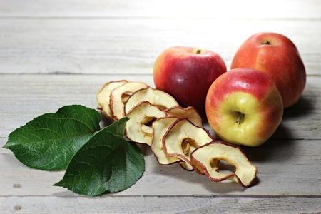 windfalls: homemade dried apple rings