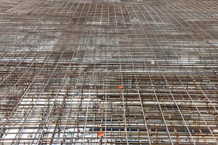 armoring: foundation ready to cast concrete