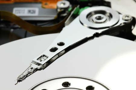 hard disk: close up of hard disk drive