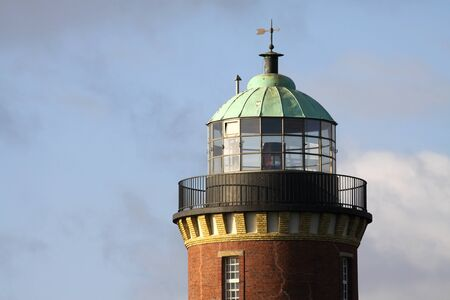 lighthouse keeper: lighthouse of Cuxhaven  Germany
