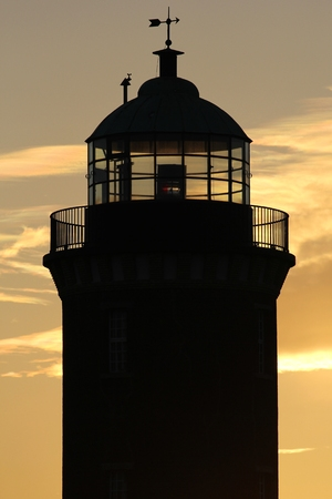navigational light: lighthouse of Cuxhaven  Germany