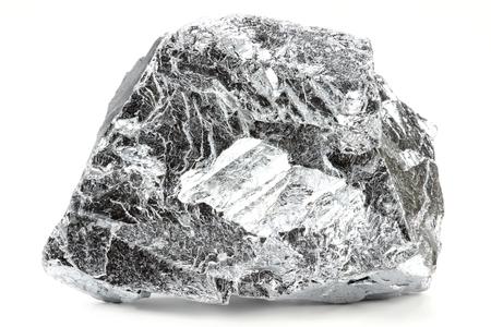 chromium isolated on white background Archivio Fotografico