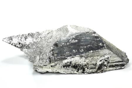 magnesium isolated on white background Archivio Fotografico