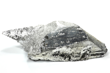 magnesium op een witte achtergrond