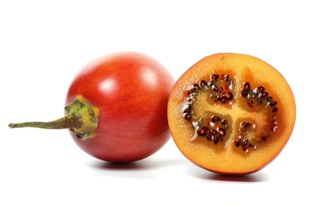tamarillo: tamarillo isolated on white background