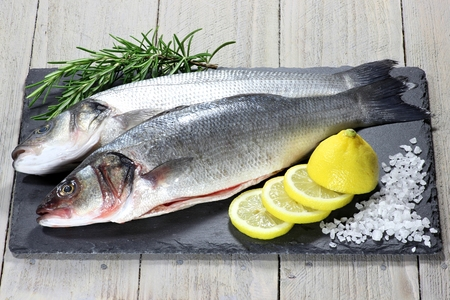 dace: european seabass ready to cook