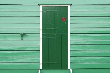 eye catcher: Green Door