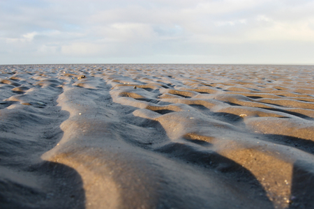 the wadden sea: Wadden Sea near Cuxhaven  Germany Stock Photo