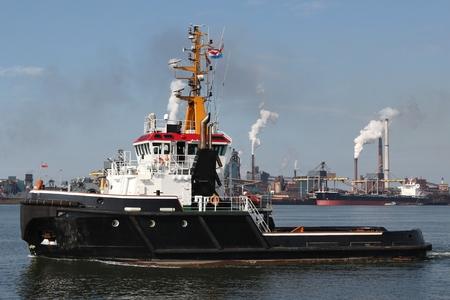tugboat: harbor tugboat