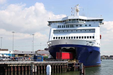 off ramp: ro-ro passenger ferry