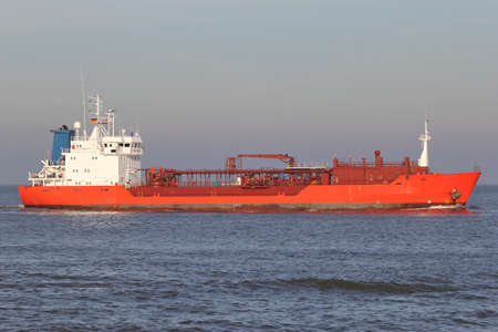 foreign trade: lpg carrier