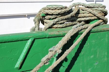 bollard: shipboard bollard