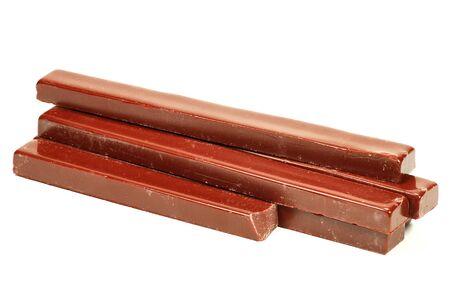 sealing wax: sealing wax sticks isolated on white background Stock Photo