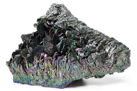 siliciumcarbide op een witte achtergrond