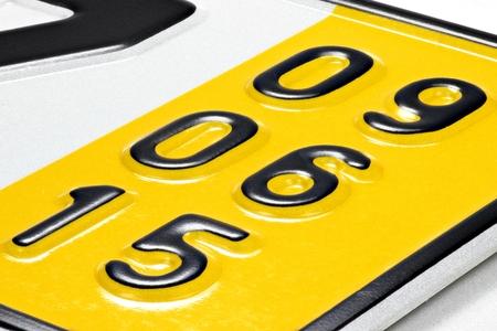 validez: fecha de validación de una placa especial temporal para los vehículos en Alemania