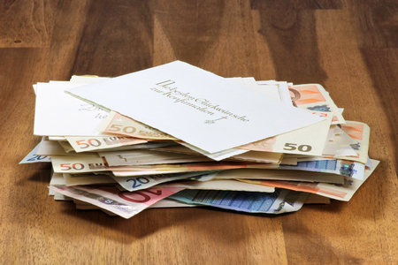 confirmacion: tarjetas de confirmación alemanes con regalos de dinero