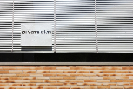 vacant: vacant German building for hire