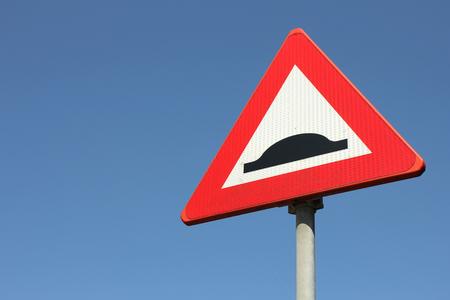 dutch: Dutch road sign: speed bump